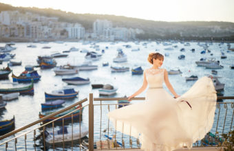 Wedding photo in Malta
